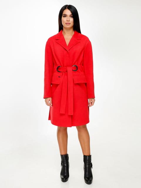 Пальто червоне Favoritti 4498605