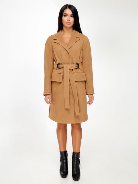 Пальто коричневое Favoritti 4498641