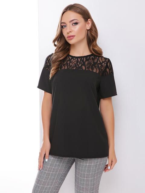 Блуза черная MarSe 4499116