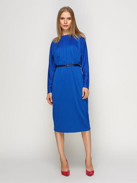 Платье василькового цвета RUTA-S 4492703