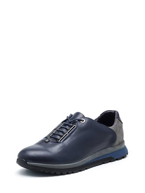 Кроссовки темно-синие Broni 4504900
