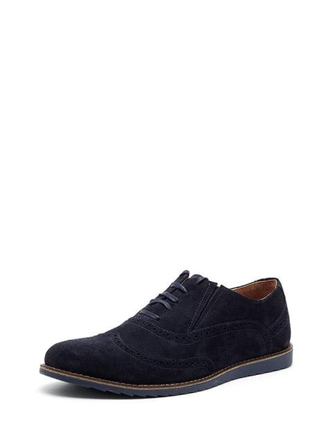 Туфлі темно-сині Broni 4505066