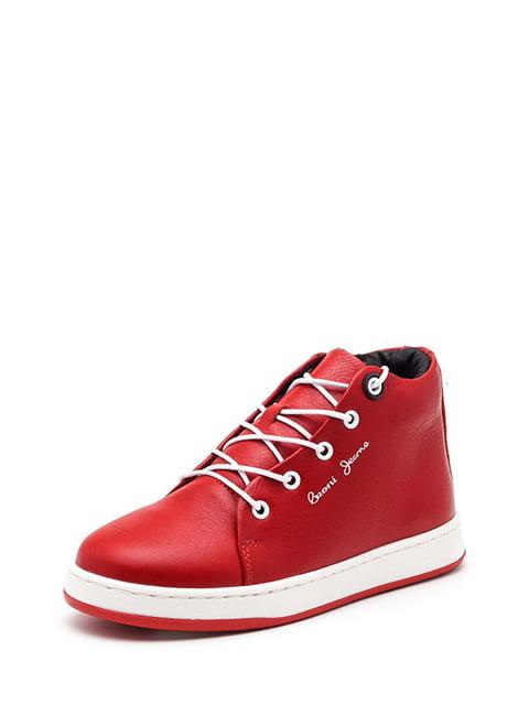 Ботинки красные Broni 4505105