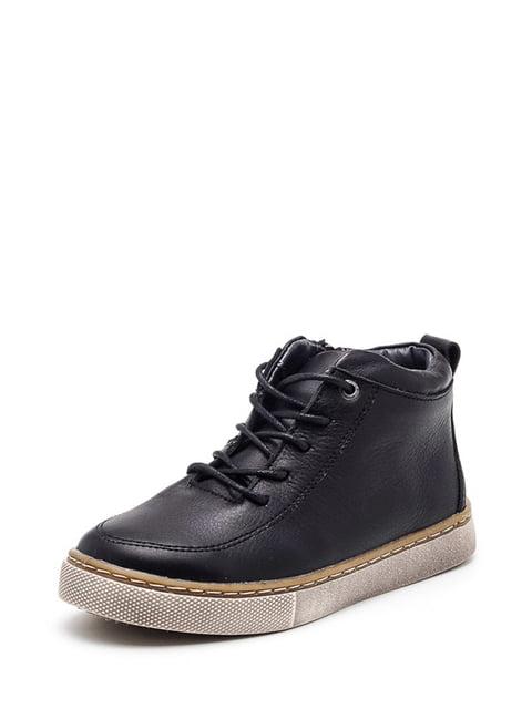Черевики чорні Broni 4505111