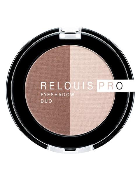 Тіні для повік Pro Eyeshadow Duo — тон 104 RELOUIS 4505881