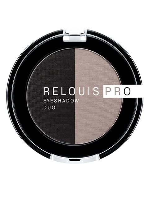 Тіні для повік Pro Eyeshadow Duo — тон 106 RELOUIS 4505882