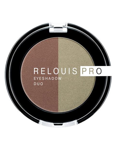 Тіні для повік Pro Eyeshadow Duo — тон 110 RELOUIS 4505883