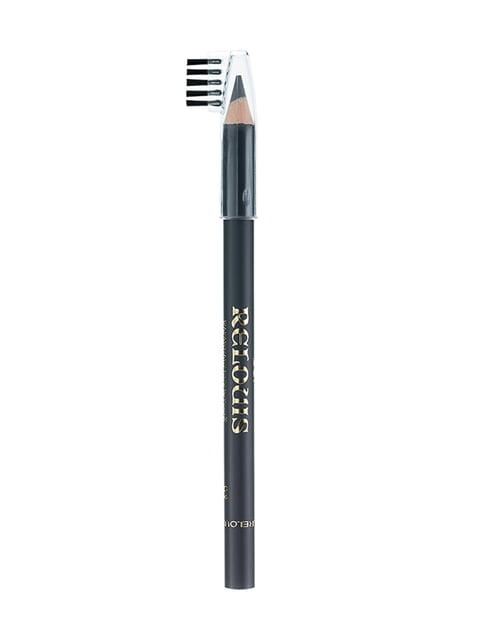 Карандаш для бровей №02 — темно-серый RELOUIS 4505867