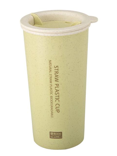 Чашка Straw Cup с двойными стенками (400 мл) MEJI 4506655