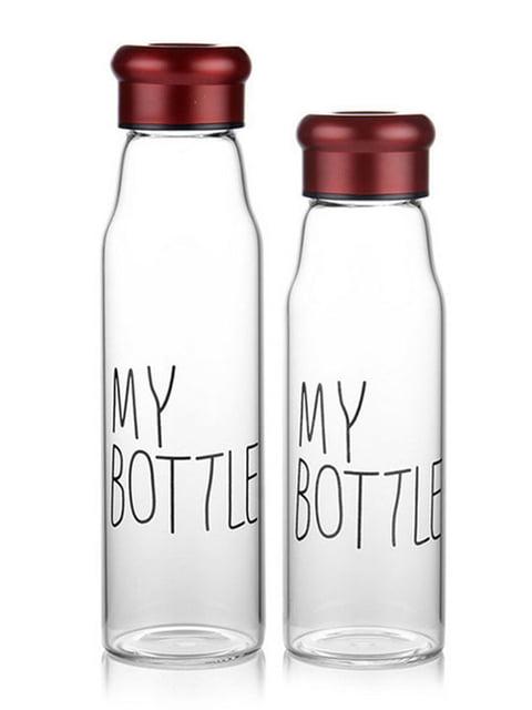 Пляшка для води скляна My Bottle (420 мл) MEJI 4506651