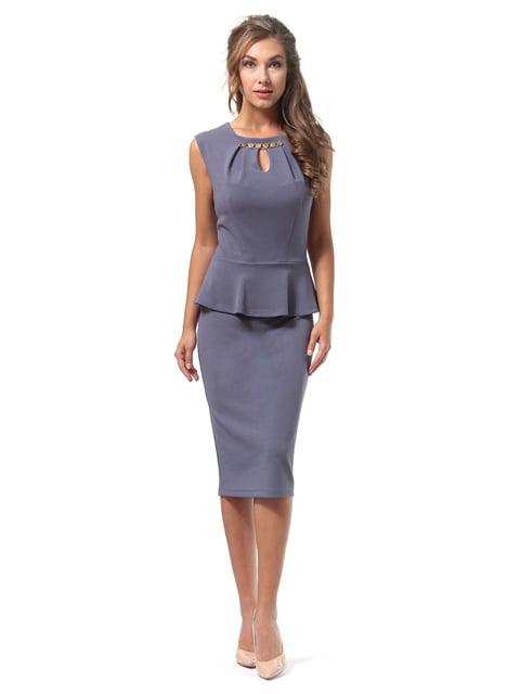 Платье графитового цвета Lada Lucci 4518833