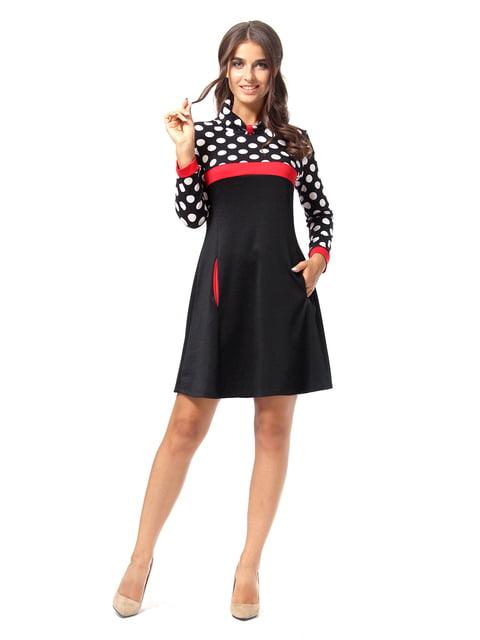 Платье черное в горошек AGATA WEBERS 4518885