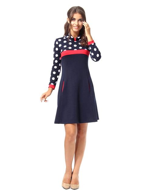 Платье темно-синее в горошек AGATA WEBERS 4518886