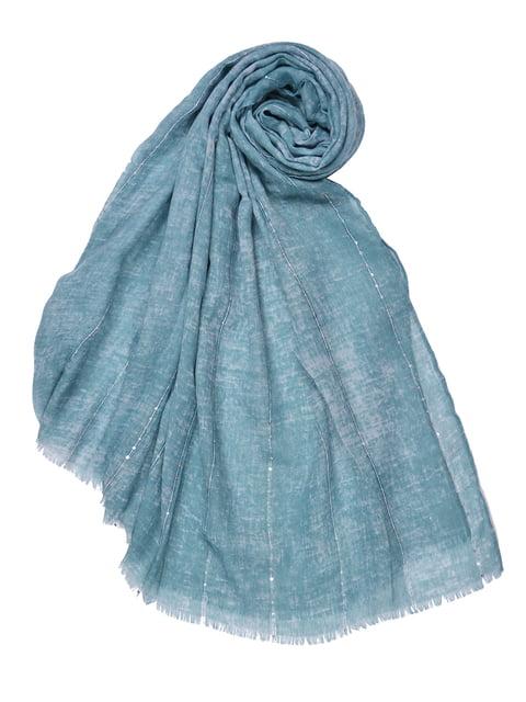 Палантин голубой Fashion Look 4519641