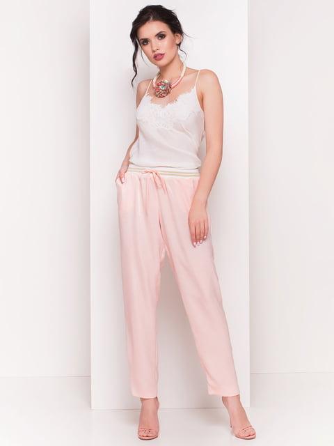 Штани пудрового кольору Modus 4384333