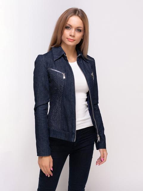 Куртка синя Sassofono 4527108