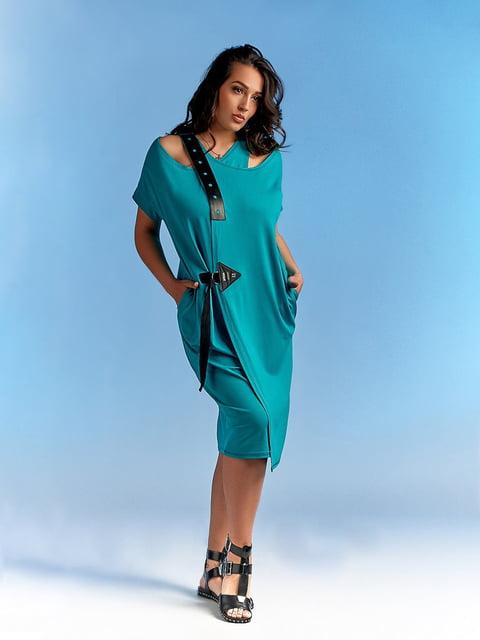 Платье бирюзовое LibeAmore 4531590