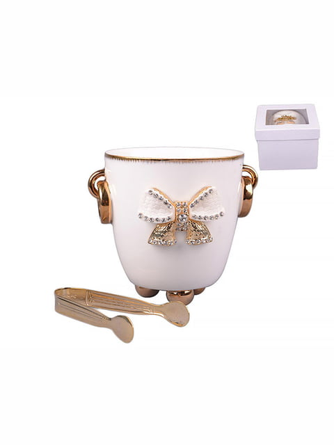 Ведерко для льда со щипцами (15 см) LEFARD 4530183