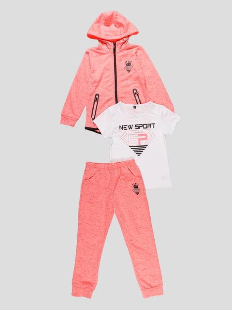 Комплект: кофта, футболка і штани Seagull 4531218