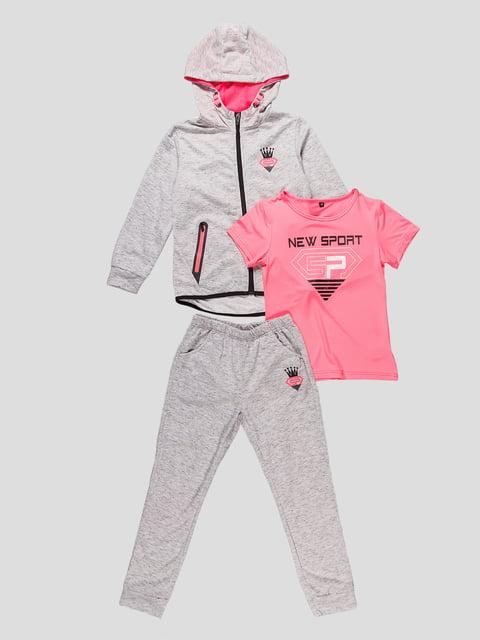 Комплект: кофта, футболка і штани Seagull 4531210