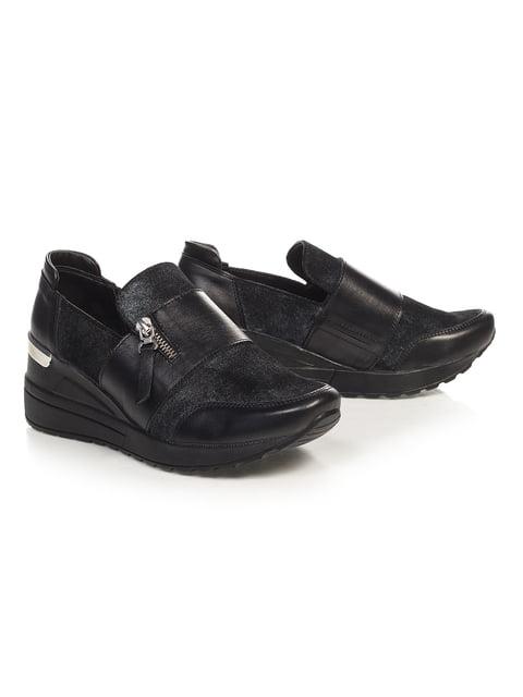 Кросівки чорні NUBE 4527686