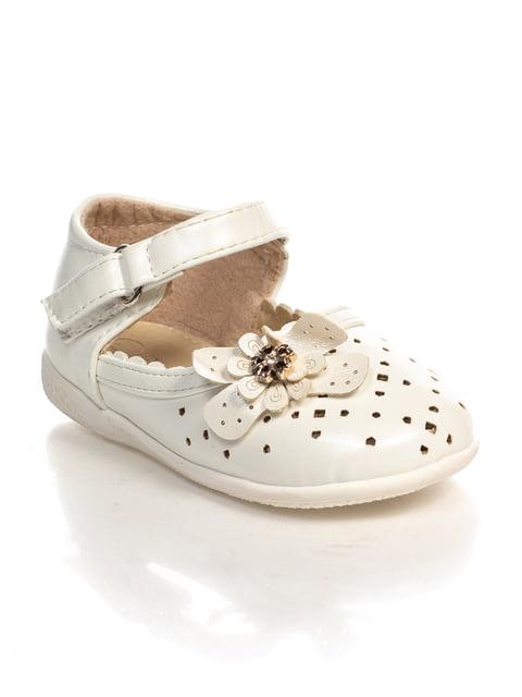Туфли белые Шалунишка 3919142