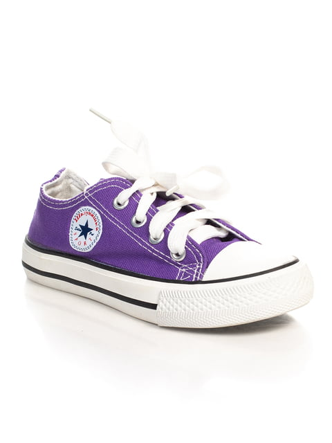 Кеды фиолетовые Шалунишка 4402598