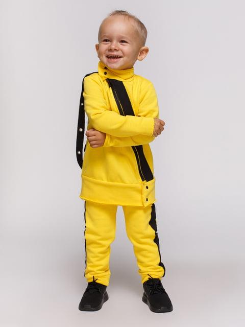 Штани жовті Loca Kids 4444663