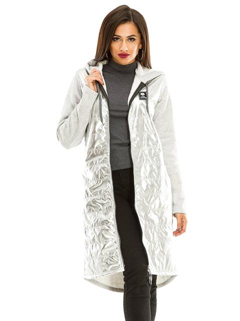 Кардиган серый Exclusive. 4534937