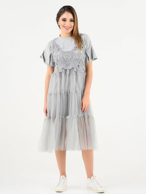 Сукня сіра Magnet 4271904