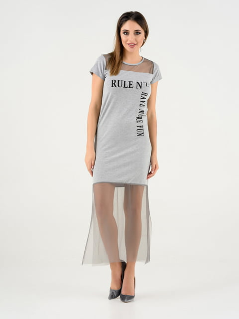 Сукня сіра Magnet 4272118