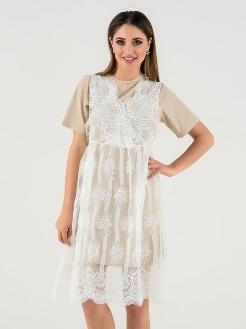 Сукня бежева Magnet 4272126