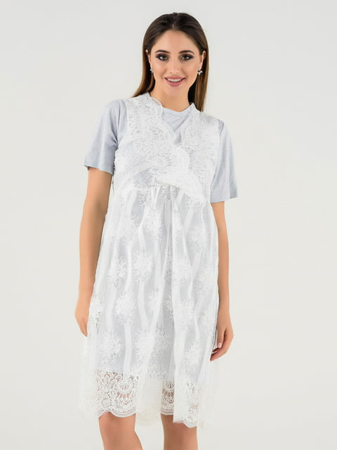 Платье голубое Magnet 4272127