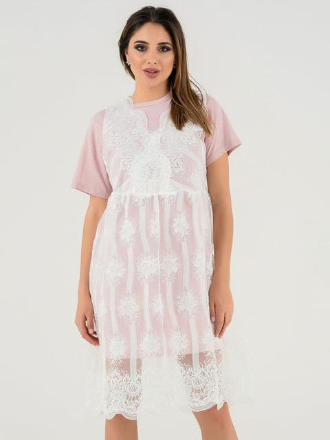 Сукня бузкова Magnet 4272128