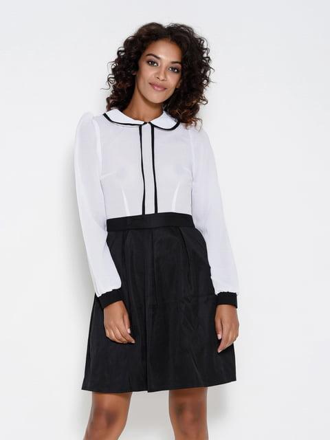 Платье черно-белое Magnet 4495633