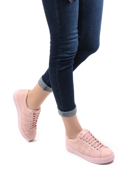 Кросівки пудрового кольору SAPIN 4536911