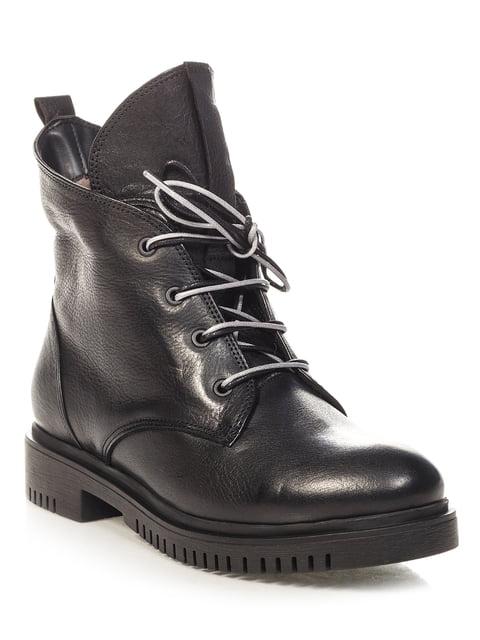 Ботинки черные Donna Ricco 4532513