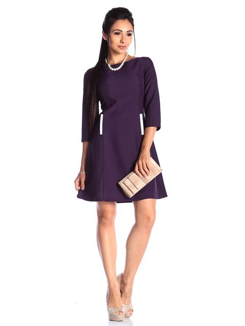 Сукня пурпурно-молочна Maurini 4489914