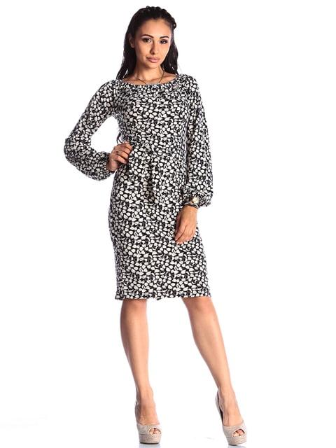 Платье в принт Laura Bettini 4538799