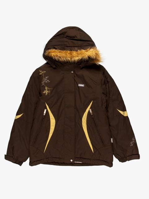 Куртка кольору хакі Reima 4398006