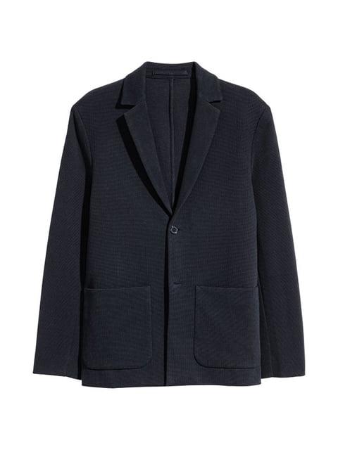 Пиджак темно-синий H&M 4544930