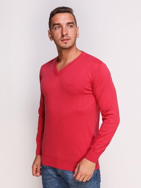 Пуловер кораловый HUGO BOSS 4532492