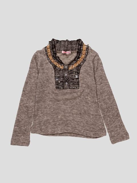 Джемпер коричневый утепленный Himunssa 2913095