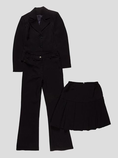 Костюм-тройка: жакет, юбка и брюки KOKORAY 3501293