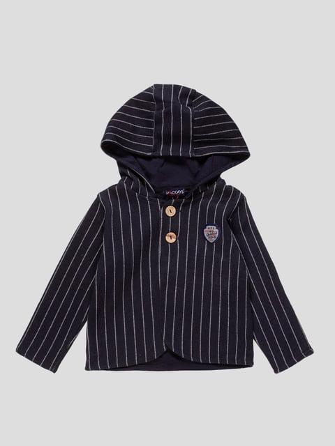 Пиджак темно-синий в полоску Mackays 4546264