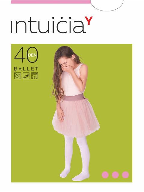 Колготки білі 40 Den Интуиция 4546656