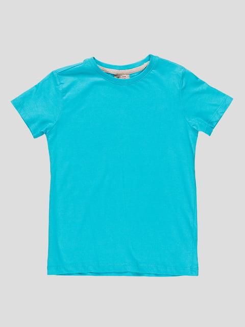 Футболка блакитна Zara Kids 4506564