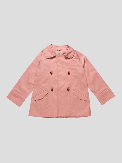 Плащ розовый Zara Kids 4511251