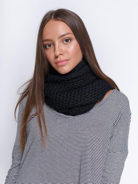 Шарф чорний Zara 4505832