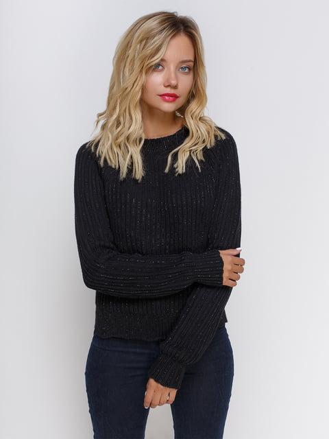 Джемпер чорний Zara 4505901